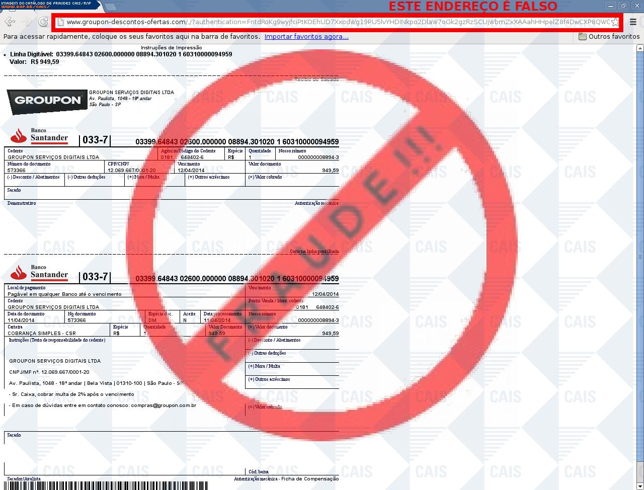 2f2ee9281f Catálogo de fraudes