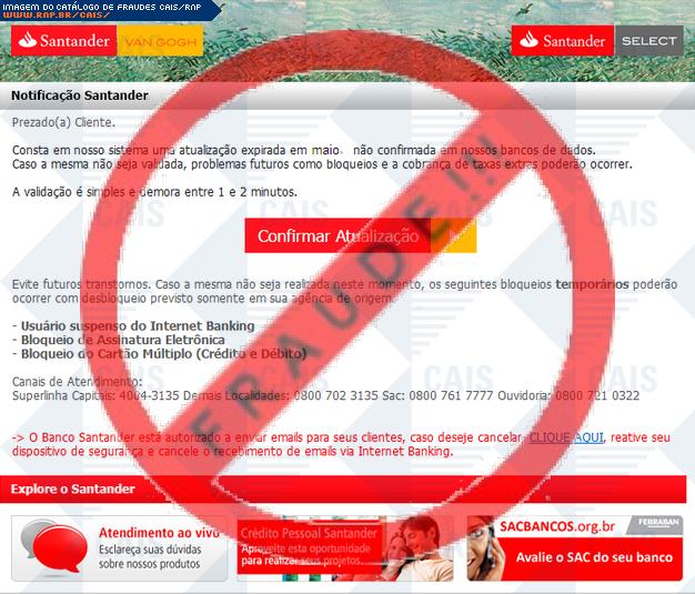 Catálogo de fraudes a09014a3549